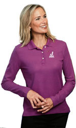 JWorld Ladies LS Polo